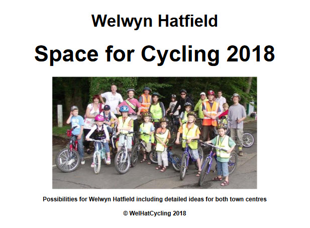 Text and photo from front cover of Space for Cycling pdf