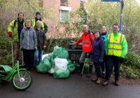 Team who pickerd litter in 2018