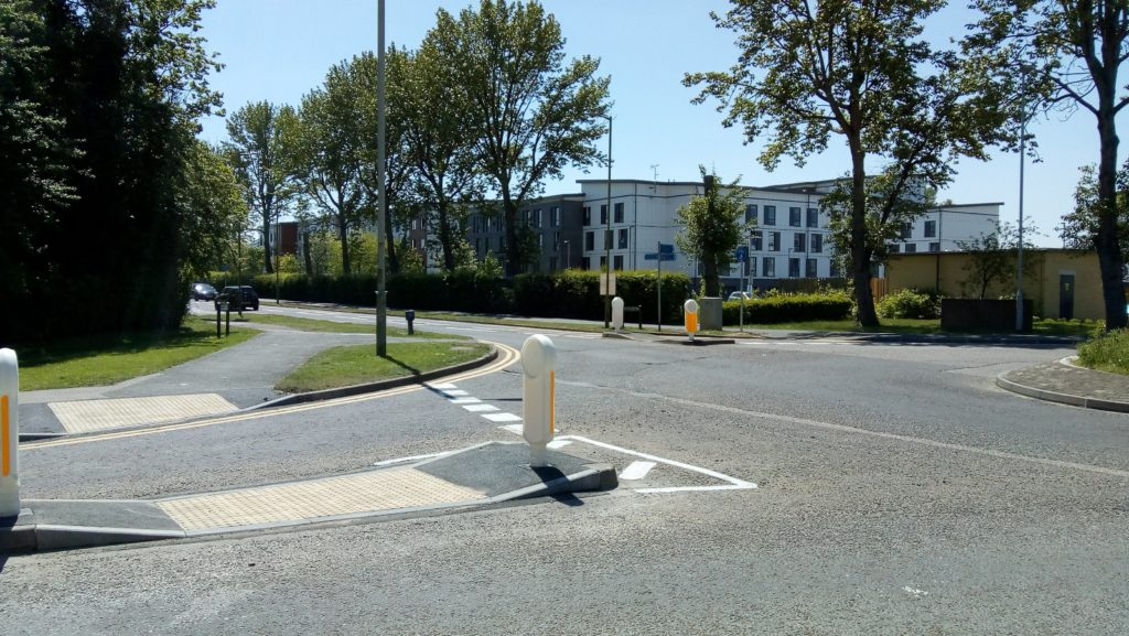Bishops Rise roundabout