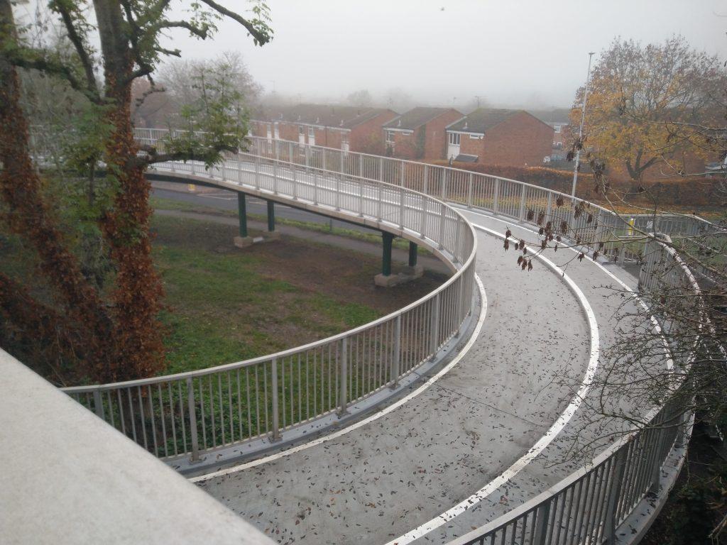 Hatfield spiral bridge National Route 12